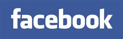 Facebook logo, joka sisältää linkin viralliselle Facebook-sivulle
