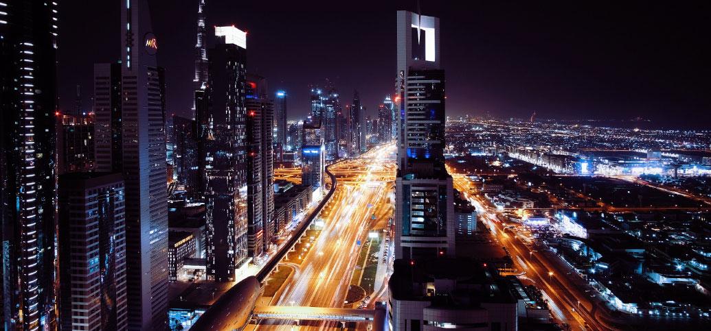 Kuva Dubain keskusasta.
