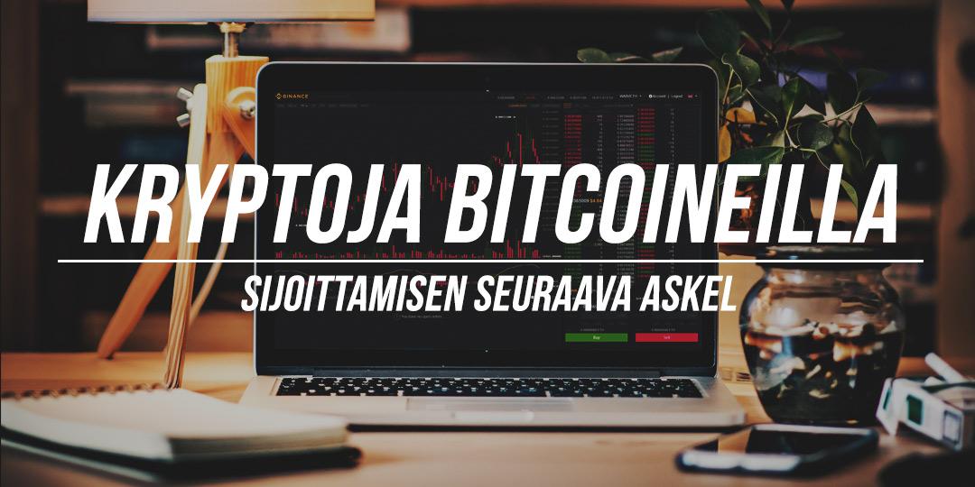 Bitcoineilla ostamisartikkelin kuva