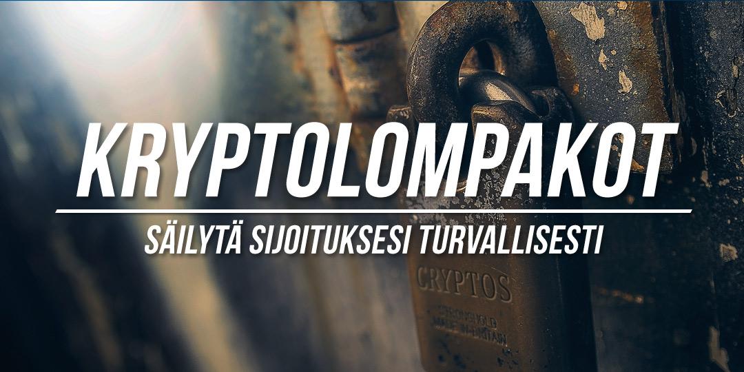 Kuva vanhasta lukosta, jossa lukee cryptos