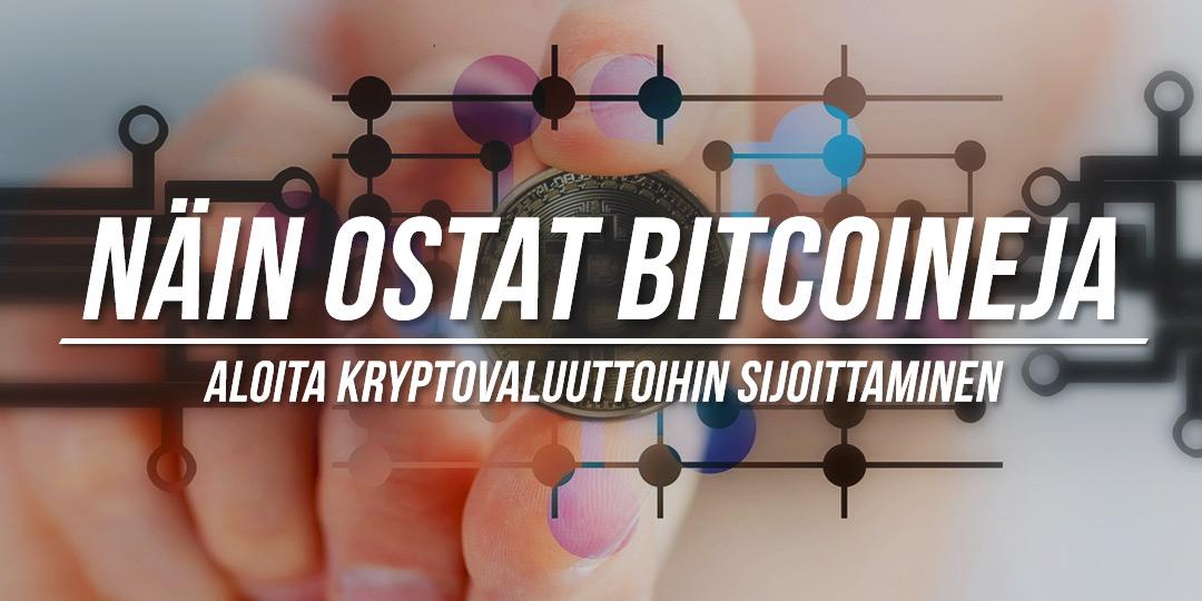 Aloita Bitcoineihin sijoittaminen